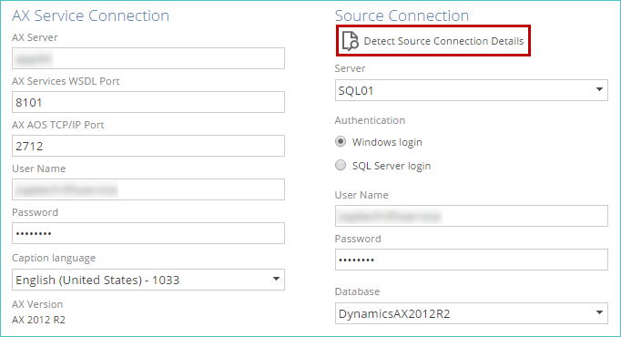 Connecting to Microsoft Dynamics AX 2009 / 2012