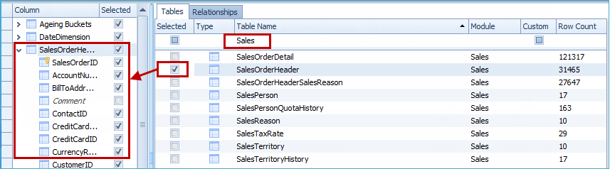 Add SQL Server Tables
